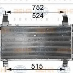 Condensator, climatizare MAZDA ATENZA hatchback 1.8 - HELLA 8FC 351 301-181 - Radiator aer conditionat
