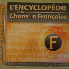 ENCICLOPEDIA CANTECULUI FRANCEZ Litera F - C D Original ca NOU - Muzica Pop universal records