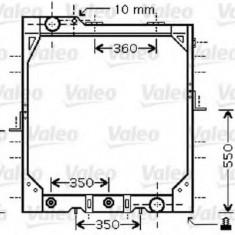 Radiator, racire motor MERCEDES-BENZ NG 1222 - VALEO 733424 - Radiator racire Bosch
