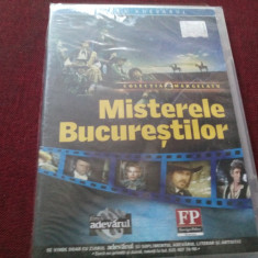 FILM DVD MISTERELE BUCURESTILOR SIGILAT - Film actiune Altele, Romana