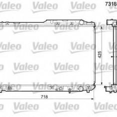 Radiator, racire motor TOYOTA SCEPTER - VALEO 731837 - Radiator racire Bosch