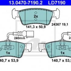 Placute frana REINZ VW TOUAREG 3.2 V6 - ATE 13.0470-7190.2