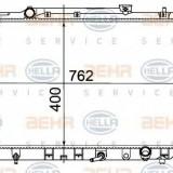 Radiator, racire motor TOYOTA CAMRY limuzina 2.2 - HELLA 8MK 376 718-531