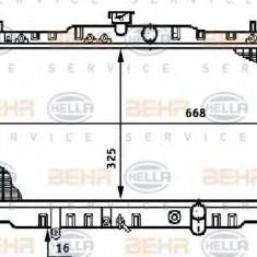 Radiator, racire motor HONDA PRELUDE Mk III 2.0 EX - HELLA 8MK 376 708-551 - Radiator racire LuK