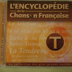 ENCICLOPEDIA CANTECULUI FRANCEZ Litera T/1 - C D Original ca NOU