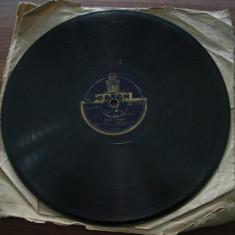 Placa gramofon/patefon Edna Cooper - Muzica Ambientala