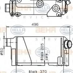 Radiator, retarder - HELLA 8MO 376 765-641