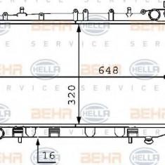 Radiator, racire motor NISSAN PRIMERA Break 1.6 i - HELLA 8MK 376 704-701 - Radiator racire LuK