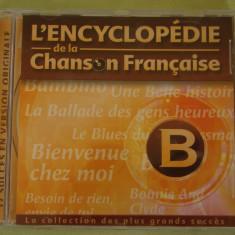 ENCICLOPEDIA CANTECULUI FRANCEZ Litera B - C D Original ca NOU - Muzica Pop universal records