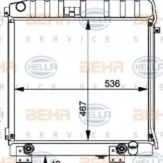 Radiator, racire motor MERCEDES-BENZ G-CLASS 280 GE - HELLA 8MK 376 709-481 - Radiator racire LuK