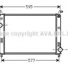 Radiator, racire motor FIAT ALBEA 1.3 JTD - AVA QUALITY COOLING FTA2371