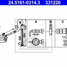 Furtun frana REINZ CITROËN C5 III limuzina 1.6 VTi 120 - ATE 24.5161-0314.3