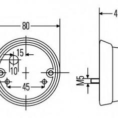 Lampa spate - HELLA 2TF 001 259-761