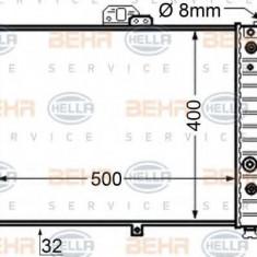 Radiator, racire motor SAAB 9000 hatchback 2.0 -16 - HELLA 8MK 376 705-611 - Radiator racire LuK