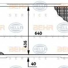 Radiator, racire motor - HELLA 8MK 376 706-231 - Radiator racire LuK