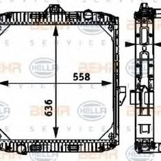 Radiator, racire motor DAF F 1700 FA 1700 DNTD, FA 1700 NB, FD 1700 DNTD, FD 1700 NB - HELLA 8MK 376 709-531 - Radiator racire LuK