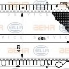 Radiator, racire motor NISSAN SERENA 2.0 D - HELLA 8MK 376 706-441 - Radiator racire LuK