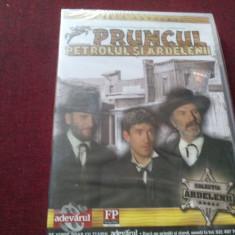 FILM DVD PRUNCUL PETROLUL SI ARDELENII SIGILAT - Film comedie Altele, Romana