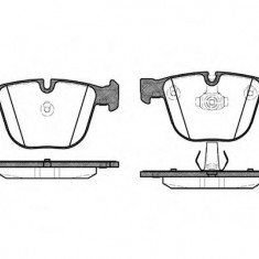 Placute frana Trw BMW X6 ActiveHybrid - ROADHOUSE 2892.00