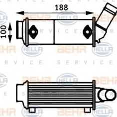 Radiator ulei, ulei motor - HELLA 8MO 376 725-191 - Radiator auto ulei