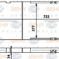 Radiator, racire motor VW PASSAT 2.0 - HELLA 8MK 376 714-731 - Radiator racire LuK