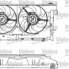 Motor electric, ventilator CITROËN ZX 1.8 i 16V - VALEO 696213 - Electroventilator auto