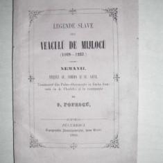 VIETILE SF.SIMEON SI SF.SAVA - S.POPESCU, 1860 //LEGENDE SLAVE - Vietile sfintilor