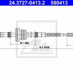 Cablu, frana de parcare MERCEDES-BENZ 100 bus D - ATE 24.3727-0413.2