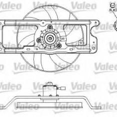 Motor electric, ventilator RENAULT CLIO Mk II 1.4 16V - VALEO 696216 - Electroventilator auto
