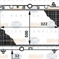 Radiator, racire motor HONDA ACCORD Mk VI 2.0 TDi - HELLA 8MK 376 708-591 - Radiator racire LuK