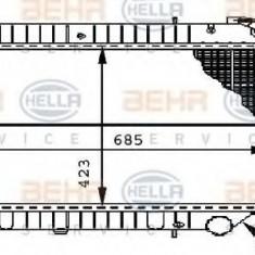 Radiator, racire motor NISSAN SERENA 2.0 16V - HELLA 8MK 376 706-421 - Radiator racire LuK