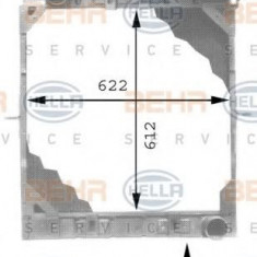 Radiator, racire motor MERCEDES-BENZ NG 1222 - HELLA 8MK 376 709-401 - Radiator racire LuK