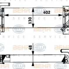 Radiator ulei, ulei motor - HELLA 8MO 376 726-391 - Radiator auto ulei