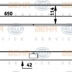 Radiator, racire motor MERCEDES-BENZ C-CLASS limuzina C 32 AMG Kompressor - HELLA 8MK 376 717-421 - Radiator racire LuK