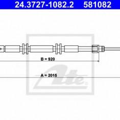 Cablu, frana de parcare RENAULT KANGOO Express Z.E. - ATE 24.3727-1082.2