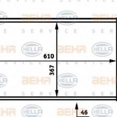 Radiator, racire motor PEUGEOT 405 Mk II 1.9 D - HELLA 8MK 376 717-661 - Radiator racire LuK