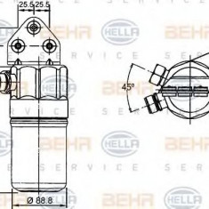 Uscator, aer conditionat AUDI A4 limuzina 2.5 TDI - HELLA 8FT 351 192-381