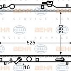 Radiator, racire motor SUZUKI BALENO hatchback 1.3 i 16V - HELLA 8MK 376 724-701 - Radiator racire LuK