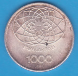 (2) MONEDA DIN ARGINT ITALIA - 1000 LIRE 1970 - CONCORDIA - 100 DE ANI REPUBLICA, Europa
