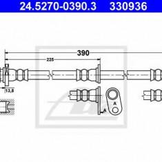 Furtun frana REINZ HONDA PRELUDE Mk V 2.0 16V - ATE 24.5270-0390.3