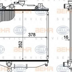 Radiator, racire motor SUZUKI SWIFT Mk II hatchback 1.3 GTi - HELLA 8MK 376 724-741 - Radiator racire LuK