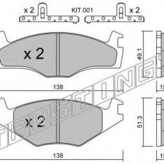 Placute frana INA VW CARIBE I 1.6 GTI - TRUSTING 047.0K