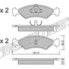 Placute frana INA FORD FIESTA Mk II 1.1 - TRUSTING 045.0