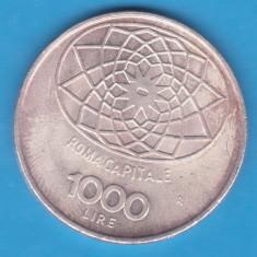 (3) MONEDA DIN ARGINT ITALIA - 1000 LIRE 1970 - CONCORDIA - 100 DE ANI REPUBLICA, Europa