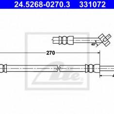 Furtun frana REINZ MAZDA MX-5 Mk II 1.6 16V - ATE 24.5268-0270.3