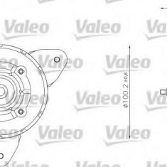 Motor electric, ventilator - VALEO 698338 - Electroventilator auto