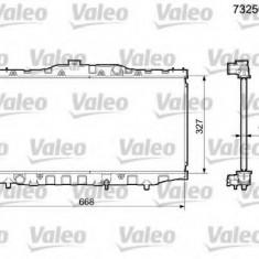Radiator, racire motor TOYOTA COROLLA Liftback 1.6 - VALEO 732561 - Radiator racire Bosch