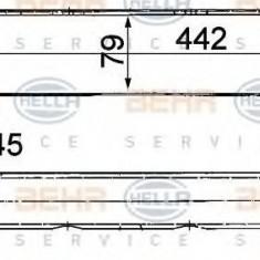 Radiator ulei, ulei motor MERCEDES-BENZ 190 limuzina E - HELLA 8MO 376 725-511 - Radiator auto ulei