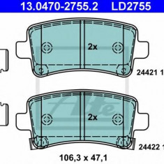 Placute frana REINZ SAAB 9-5 2.0 TTiD XWD - ATE 13.0470-2755.2