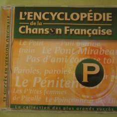 ENCICLOPEDIA CANTECULUI FRANCEZ Litera P - C D Original ca NOU - Muzica Pop universal records